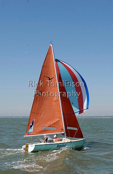 SCW07-1528   Skandia Cowes Week 2007 day 2, Sunday August 5 13 Aquabat Squib