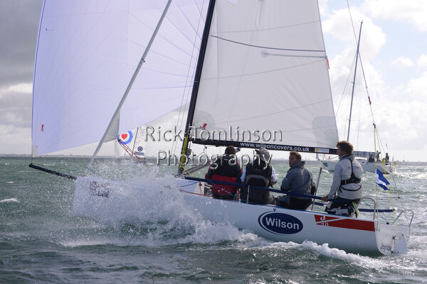 AAMCW13-RT00080   Aberdeen Asset Management Cowes Week 2013. Saturday Aug 3 J70 259 Wilson Covers