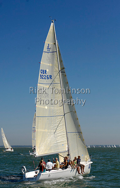 SCW07-1507   Skandia Cowes Week 2007 day 2, Sunday August 5 GBR9226R Just in Time JSpr