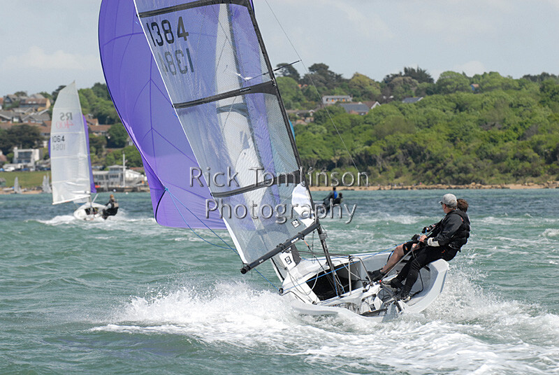 RS400RT-0417   RS400 Open Meeting at Gurnard Sailing Club, racing in Thorness Bay close to Gurnard Isle of Wight   Keywords: RS400 Gurnard